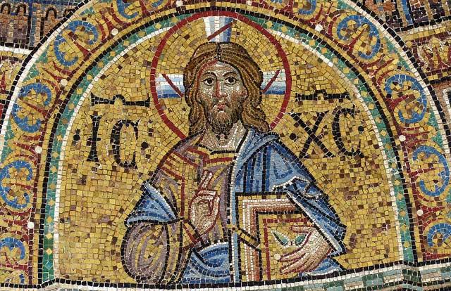 Мозаика внутри Собора Святого Марка