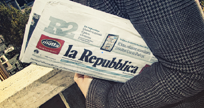 газета в италии