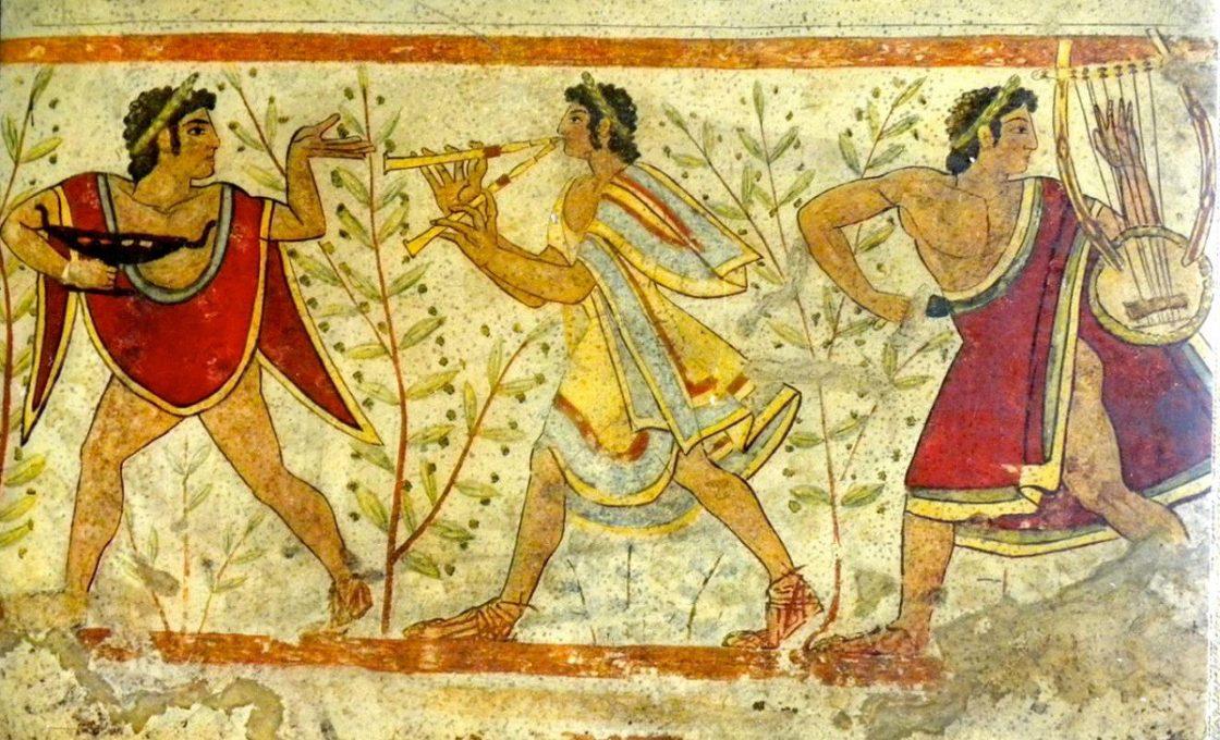 Этрусская фреска
