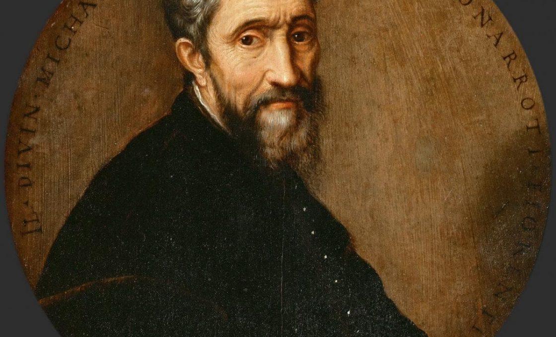 Франс Флорис Старший Портрет Микеланджело