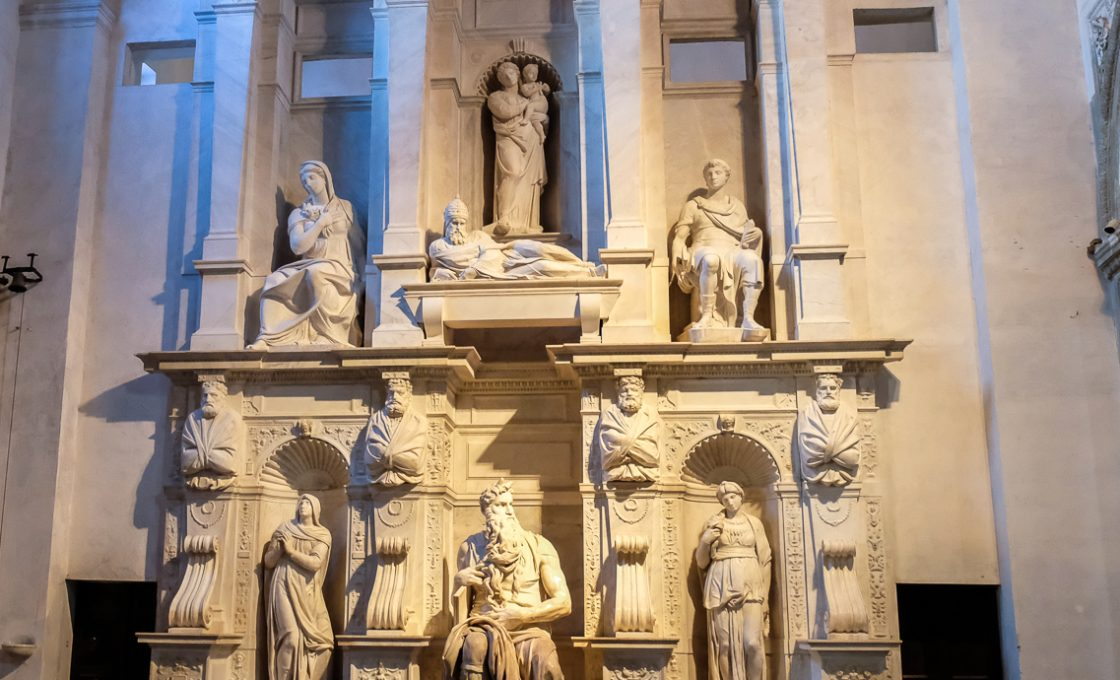 Микеланджело Гробница папы Юлия II