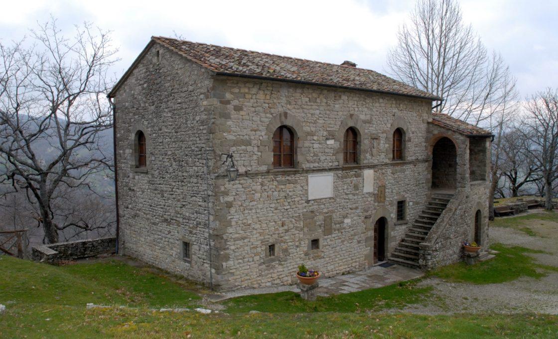 Дом в Капрезе, где родился Микеланджело