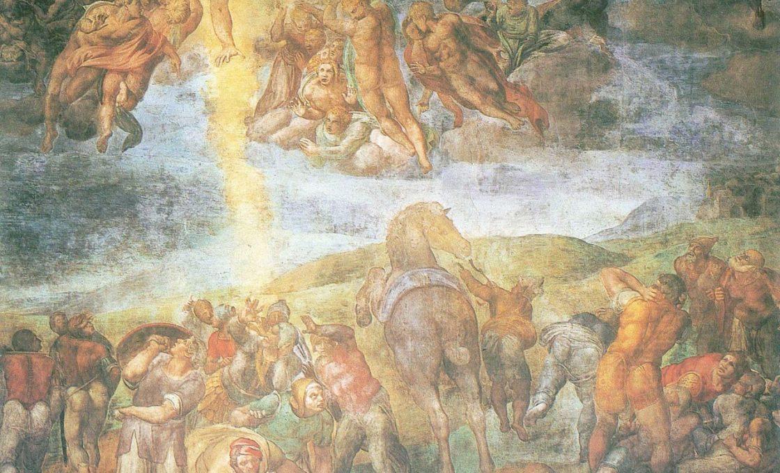 Микеланджело Обращение Святого Павла