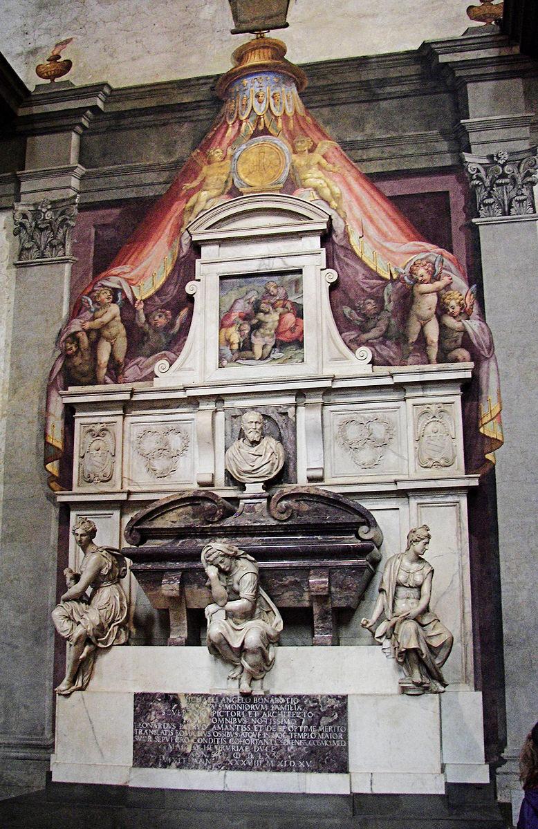 Гробница Микеланджело Буонарроти