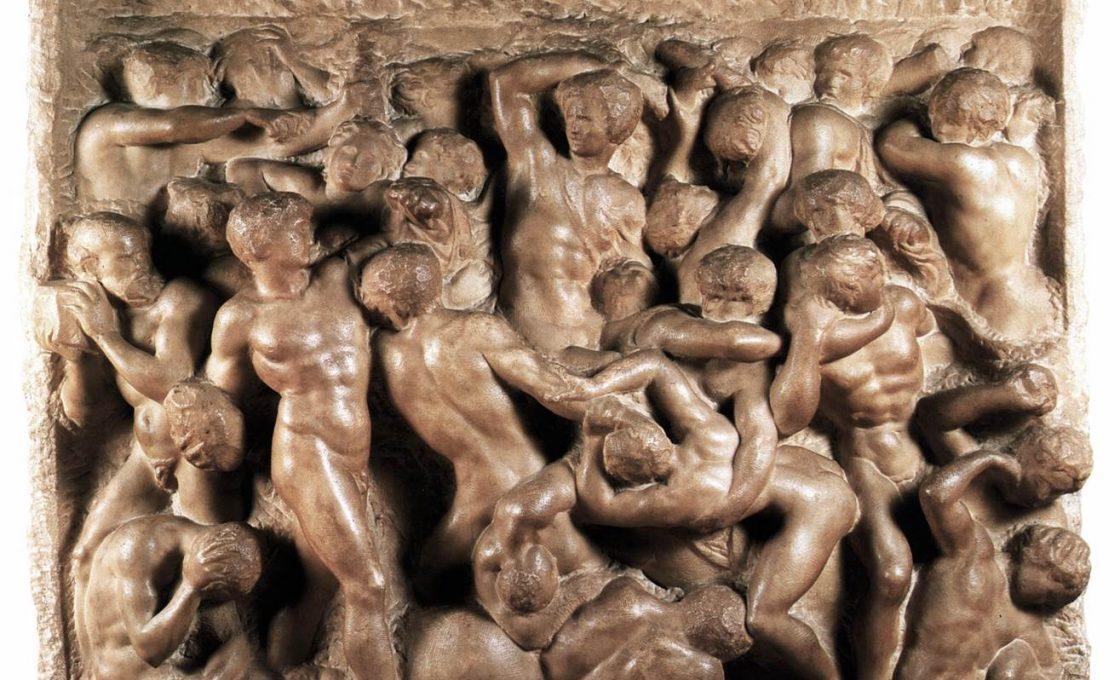 Микеланджело Битва кентавров